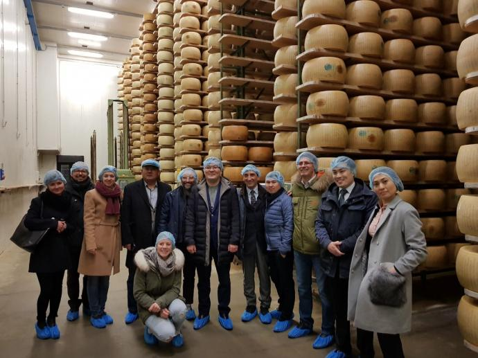 Perspectives of cooperation between Kazakh and Italian farmers in agricultural processing discussed in Rome