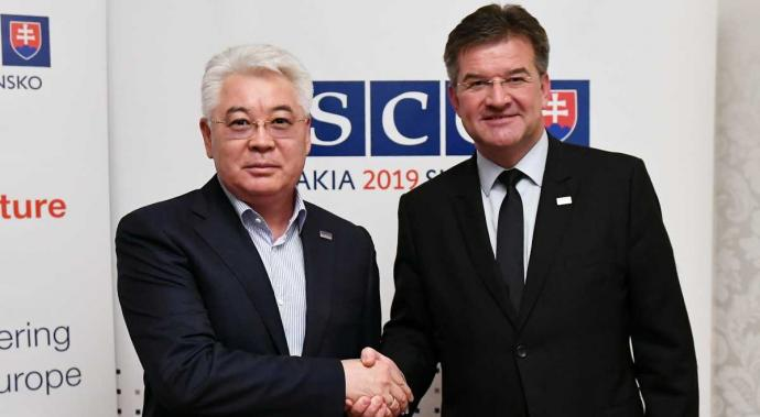 Kazakhstan and Slovakia Aim at Strengthening Interaction within the OSCE and in Bilateral Format