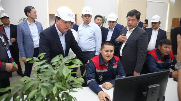 Industrial cluster, industrialization and agribusiness: Askar Mamin visits Aktobe region for a working trip