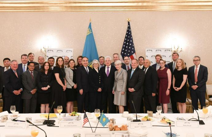 ​Kazakhstan and the United States aim at strengthening the economic partnership