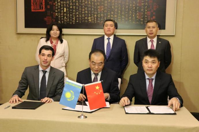 KAZAKH INVEST signed a number of agreements with Chinese businessmen