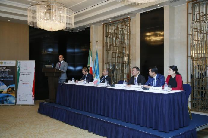 KAZAKH INVEST: The volume of Italian investments in the economy of Kazakhstan is 6.6 billion US dollars