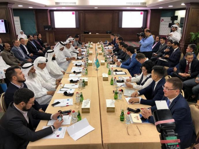 "Kazakhstan delegation headed by Saparbek Tuyakbayev, Chairman of the Board of ""National Company ""KAZAKH INVEST""  visited Qatar on 4-5 of November, 2018"