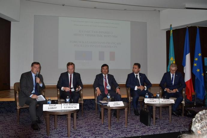 1st Kazakh-French Investment Forum held in Paris