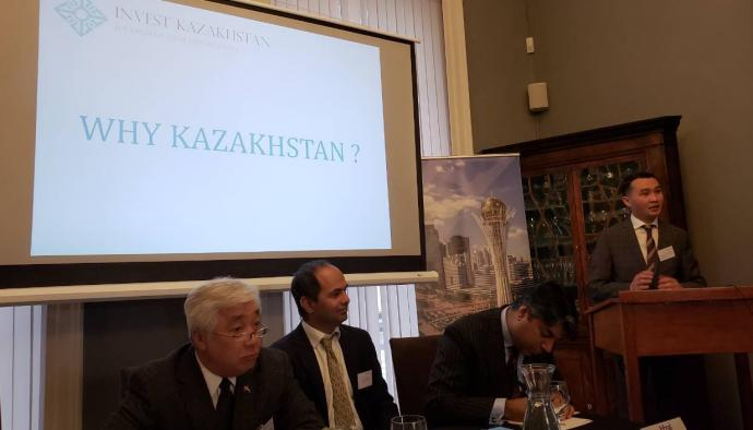 Development of Kazakh-British investment projects discussed in London