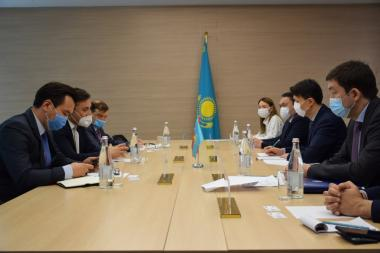 KAZAKH INVEST and «Yildirim Holding» discussed the implementation of investment projects in Kazakhstan