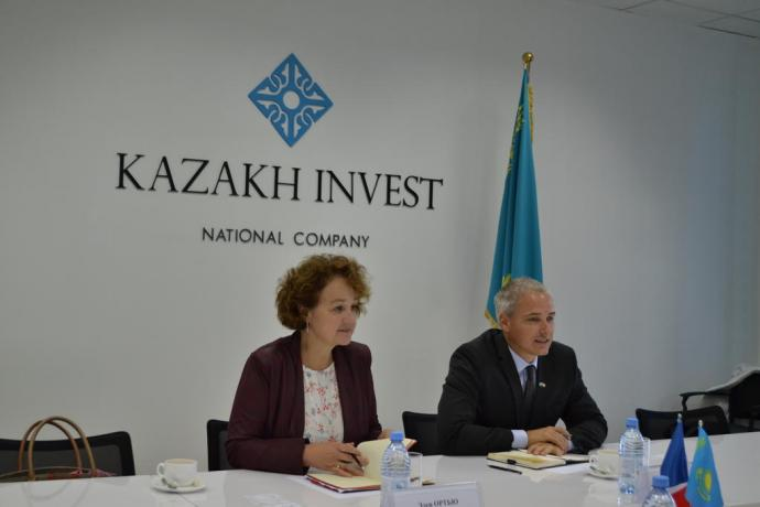Business meetings of Kazakhstan will take place in Paris