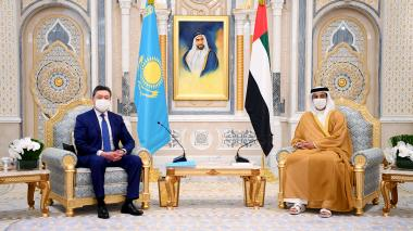 Askar Mamin's visit to Abu Dhabi: Kazakhstan and the UAE accommodated investment projects for $6.1 billion