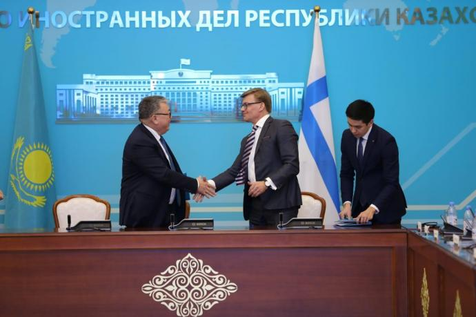 The Kazakhstan-Finnish Business and Investment Roundtable 2019